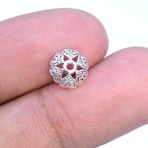 6x5MM Cone Bead Cap Antique Silver Tone Zinc Alloy 30 Pcs Bulk Lot Options 62812-2331