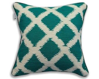 Decorative Pillow Crewel Work Pillow Handmade Pillow Cover 24x24 in 2 Aks Pillow Covers