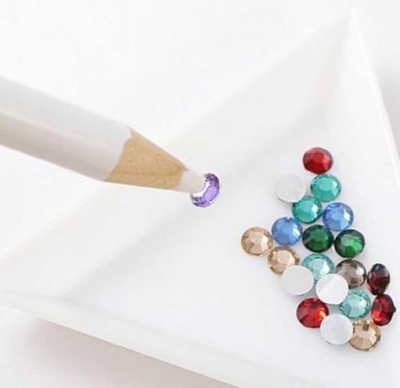 Strasssteine Kristallen Edelsteine Wax Picker Stift Kunst und Handwerk