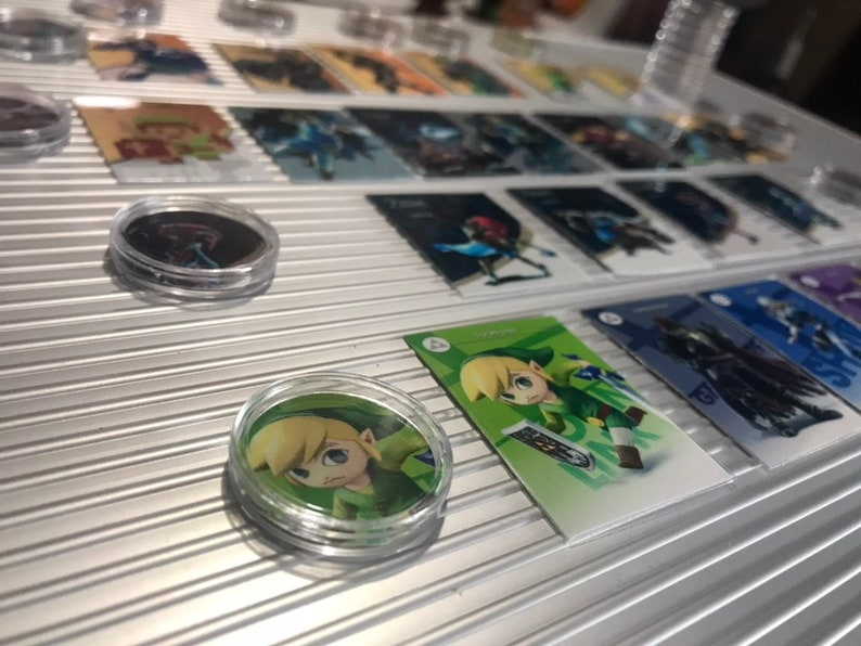 BOTW Amiibo coins Programmed NFC tags Zelda Fierce diety 20 heart WolfLknk  Twilight Bow