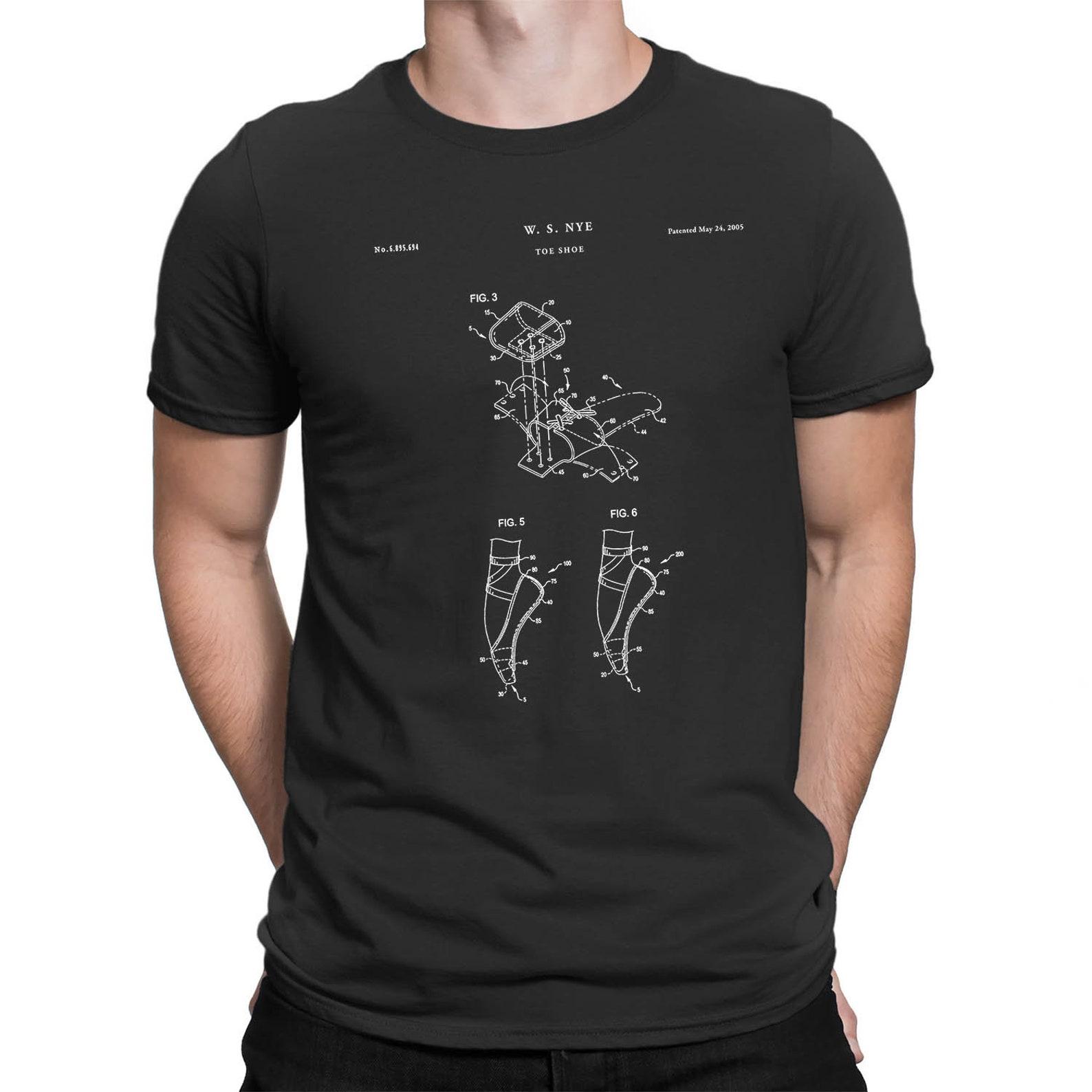 ballet shoe patent t shirt, ballet slippers, dance studio, ballerina gift,, gift idea, shirts, dancer shirt, qs568