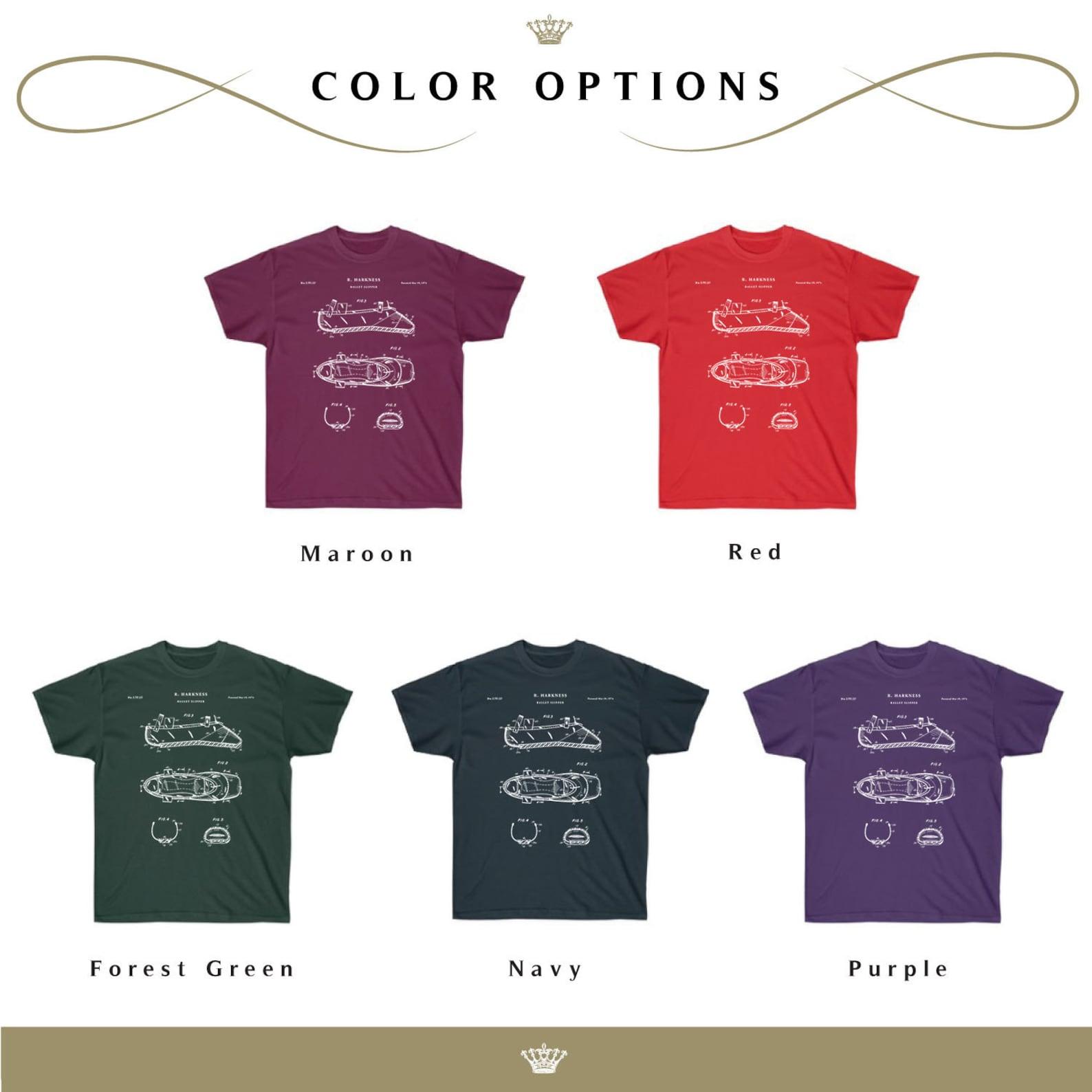 ballet slipper patent t shirt, ballerina gift, dance studio, ballet shoe, ballerina shirt,, dancer, dance t shirt, qs574