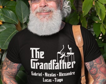 The GrandFather - cadeau grand-papa - T-Shirt Unisex Ultra Coton- Personnalisable - Le Parrain