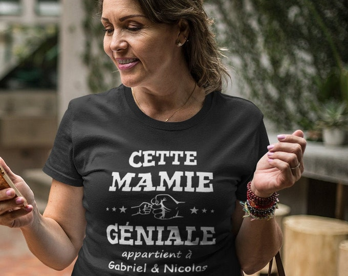 Mamie géniale - manches courtes - personnalisable