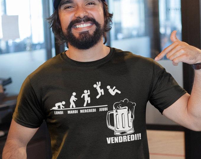 Évolution de la semaine - T-Shirt Unisex Ultra Coton - Bière