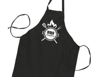 BBQ Master - Tablier de cuisinier - fête des pères