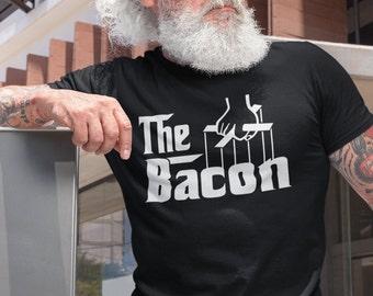 The Bacon - T-Shirt Unisex Ultra Coton - cadeau homme- humour - drôle