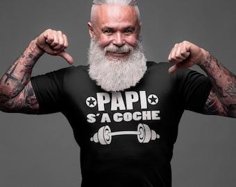 Papi s'a coche - T-Shirt Unisex Ultra Coton