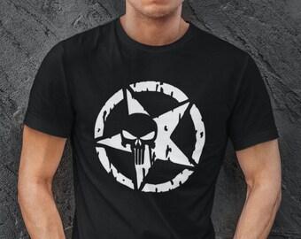 Étoile tête de mort - T-Shirt Unisex Ultra Coton - Cadeau