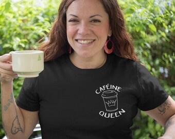 Caféine Queen - T-Shirt à col rond