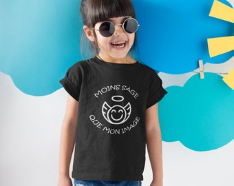 Moins sage que mon image - T-Shirt unisex pour enfants - garçons - filles