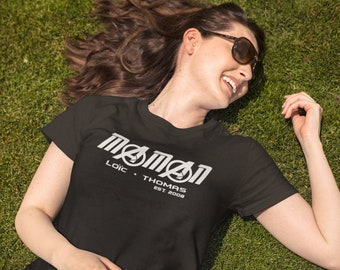 Maman t-shirt - Super-Héros - Personnalisable