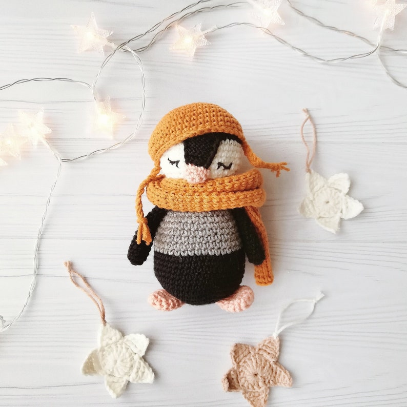 Crochet Penguin Pattern Amigurumi Pattern Crochet Toy Pattern Etsy