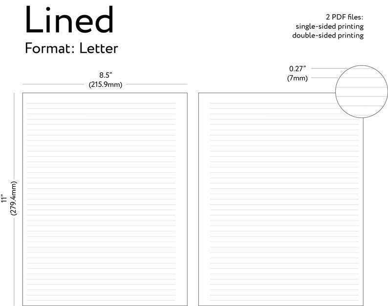 photograph relating to Printable Paper With Lines referred to as Printable Letter Covered Paper, Included Printable Planner Add, Covered Letter Paper, Printable Dominated Paper - Letter Measurement 8.5\