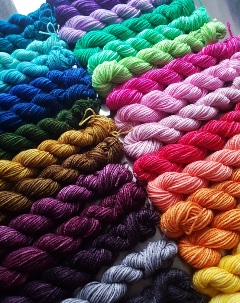 Compendium of Colour  Wee Ones  Colourist's Yarn 30 x image 1