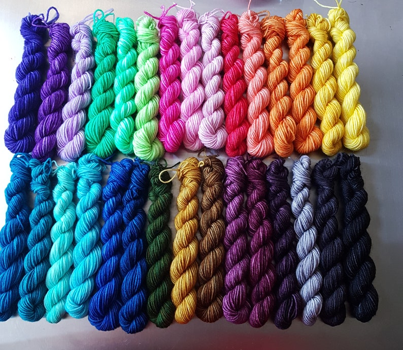Compendium of Colour  Wee Ones  Colourist's Yarn 30 x image 0