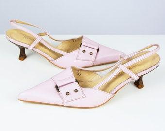 03db194e488 Vintage Leather Heels