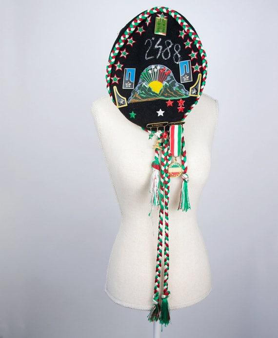 Vintage Beret Hat | Italian Beret Hat Military Be… - image 4