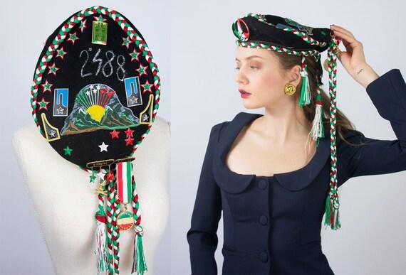 Vintage Beret Hat | Italian Beret Hat Military Ber