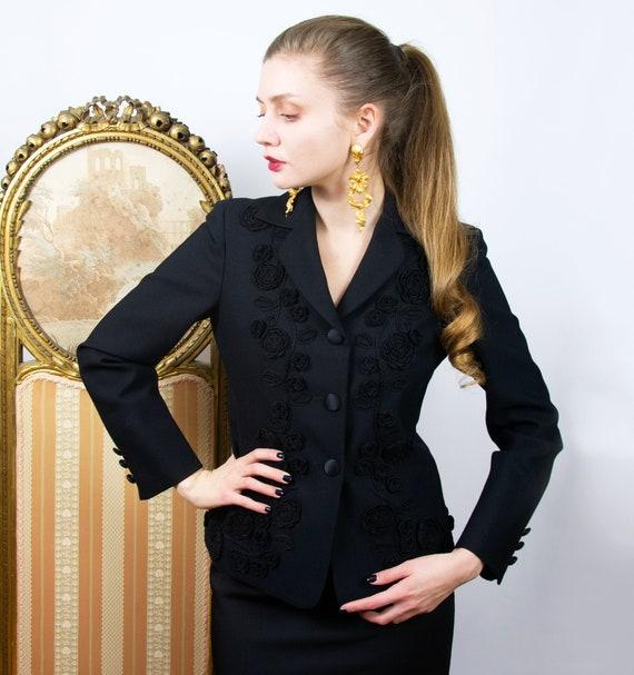 Vintage MOSCHINO Blazer, Moschino Jacket, Designer