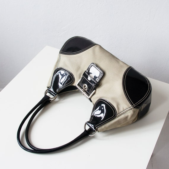 Vintage PRADA Bag, 90s Prada Shoulder Bag