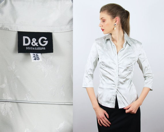 Vintage D&G Blouse | Dolce and Gabbana Blouse Vint