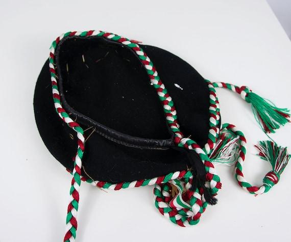 Vintage Beret Hat | Italian Beret Hat Military Be… - image 10