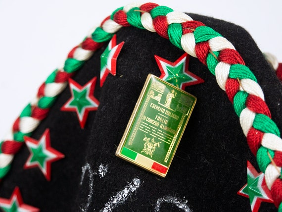 Vintage Beret Hat | Italian Beret Hat Military Be… - image 7