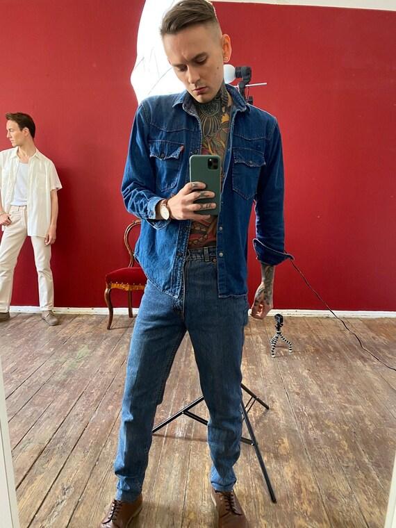 Vintage Levi's denim Shirt, Men's top