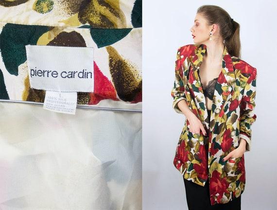 Vintage PIERRE CARDIN blazer   Silk Blazer Silk Ja