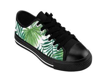 76898a2887 Green Leaves Nature Shoes