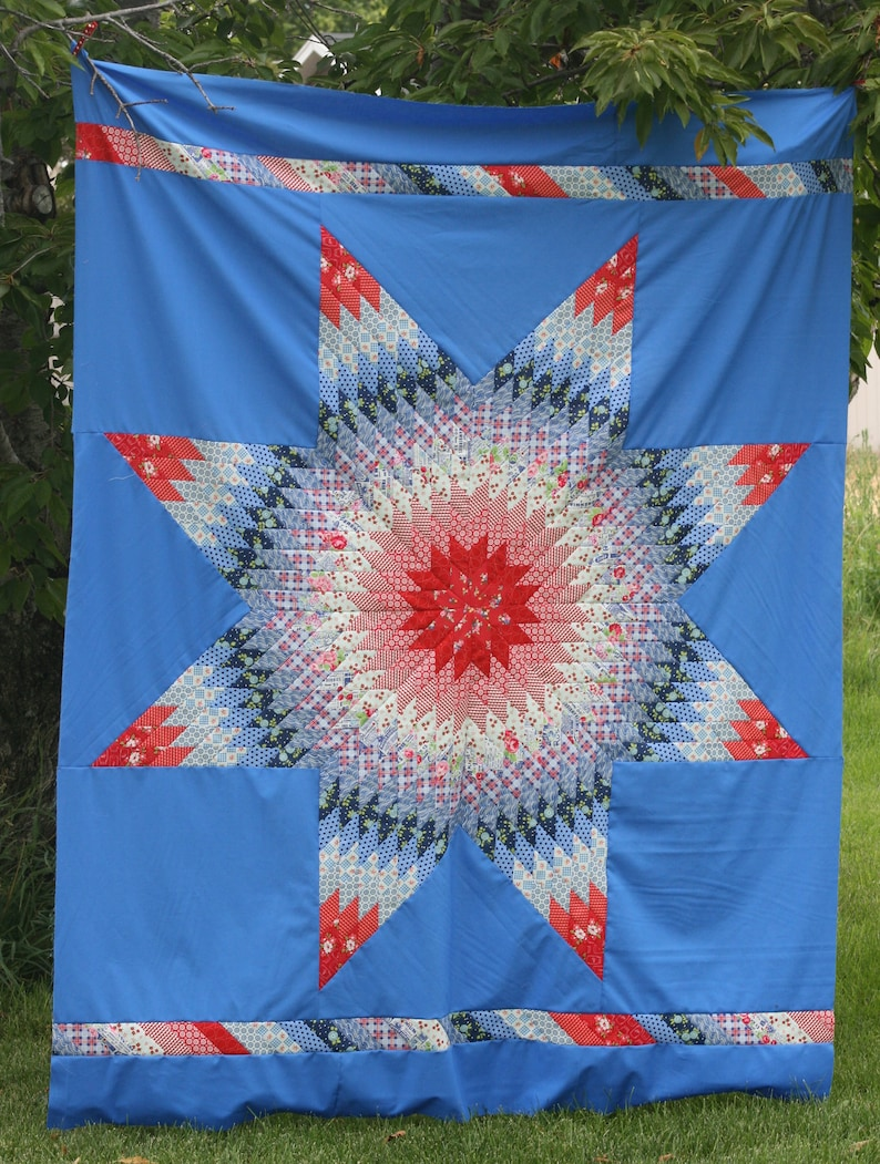 Lucky Lone Star Quilt Pattern image 0