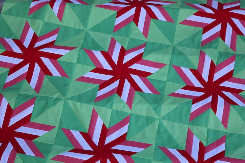 Peppermint Quilt / Anthem Quilt Pattern image 0
