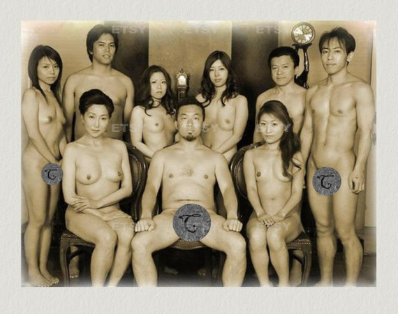 Japanese family nude