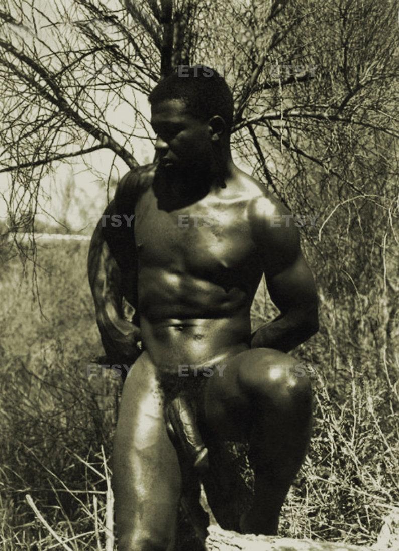 Nude black male celebs