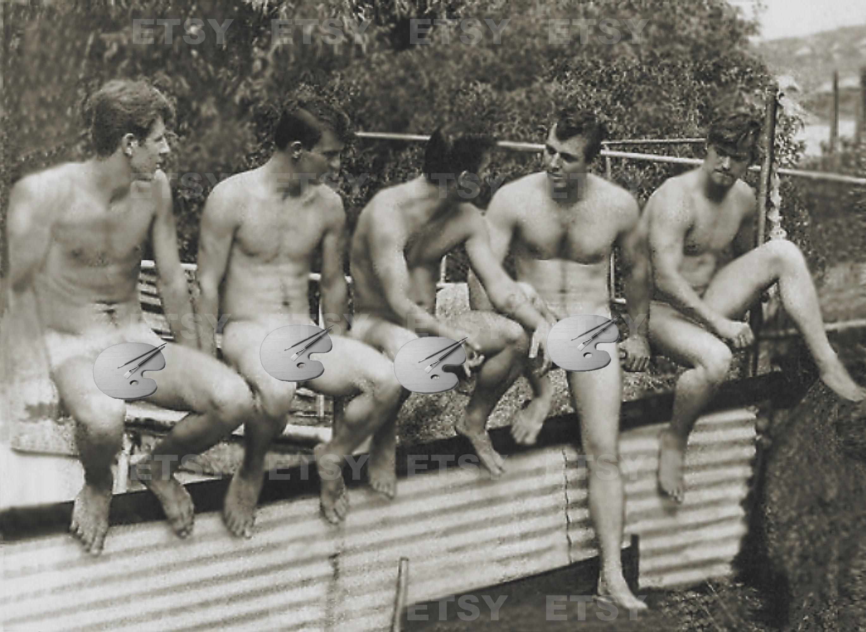 Herren nackt alte Alte Herren
