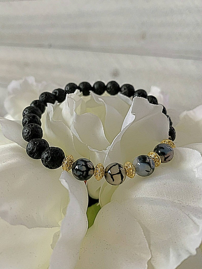 Strength/Wisdom/ Favor Prayer Bracelet