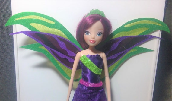 handmade Mattel Winx Glam Magic Musa doll wings Winx Club doll wings