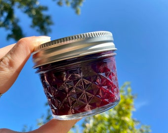 Blackberry Jam 4 oz - Homemade Marmalade - Food Gift