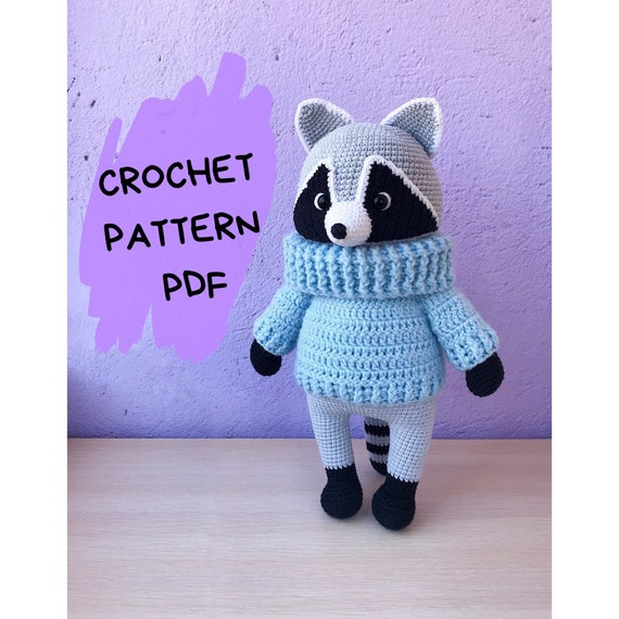 Charming Amigurumi Raccoons Free Patterns | 570x570