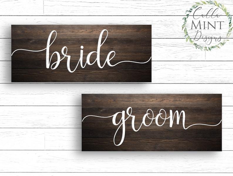 Bride Groom svg Bride and Groom svg Wedding svg Bride svg image 0