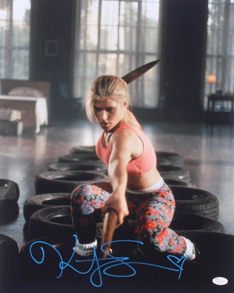 JSA Witnessed JSA COA Kristy Swanson Signed Buffy the Vampire Slayer 16x20 Photo
