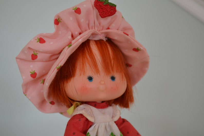 1980 Vintage Strawberry Shortcake STRAWBERRY SHORTCAKE