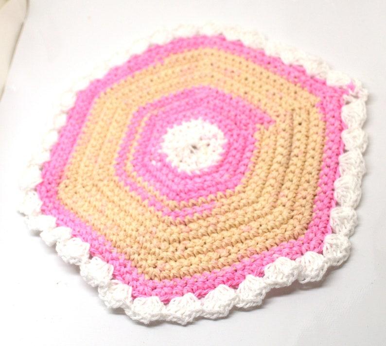 potholder made of cotton elegant potholder made in Russia crochet potholder Russian potholder cotton potholder potholder