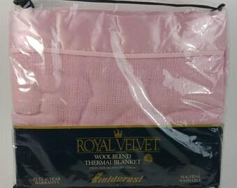 Royal Velvet Blanket Etsy