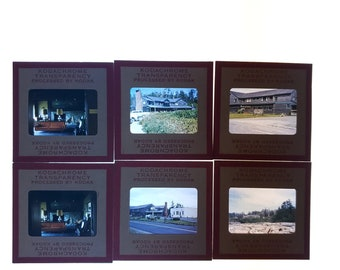 6 1960/'s Tepees Totem Poles Native Indians Slides Color Transparency Kodachrome