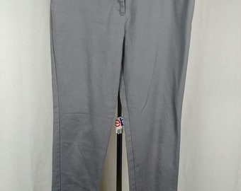 4576a9d7b2d5 r4 Worthington Gray Slim Fit Dress Pants Slacks Womens Size 8