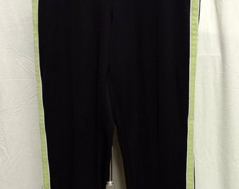 Sjb Active Black Exercise Pants Athletic Wear Womens Sz Large Activewear