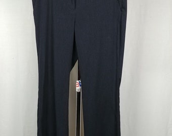 161caac706e8 r4 Worthington Black Pinstripe Dress Pants Slacks Modern Fit Womens Size 8