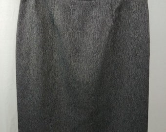 9e1fd6339 r3 Unbranded Gray Straight Pencil Short Skirt Womens Size 12